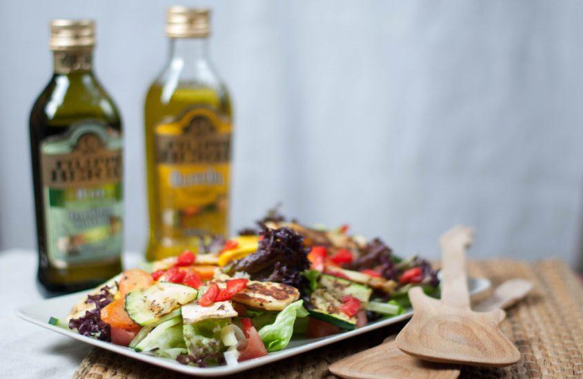 Sommer Salat für heiße Tage