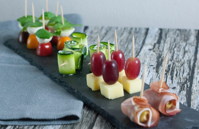 Partyfood = Fingerfood